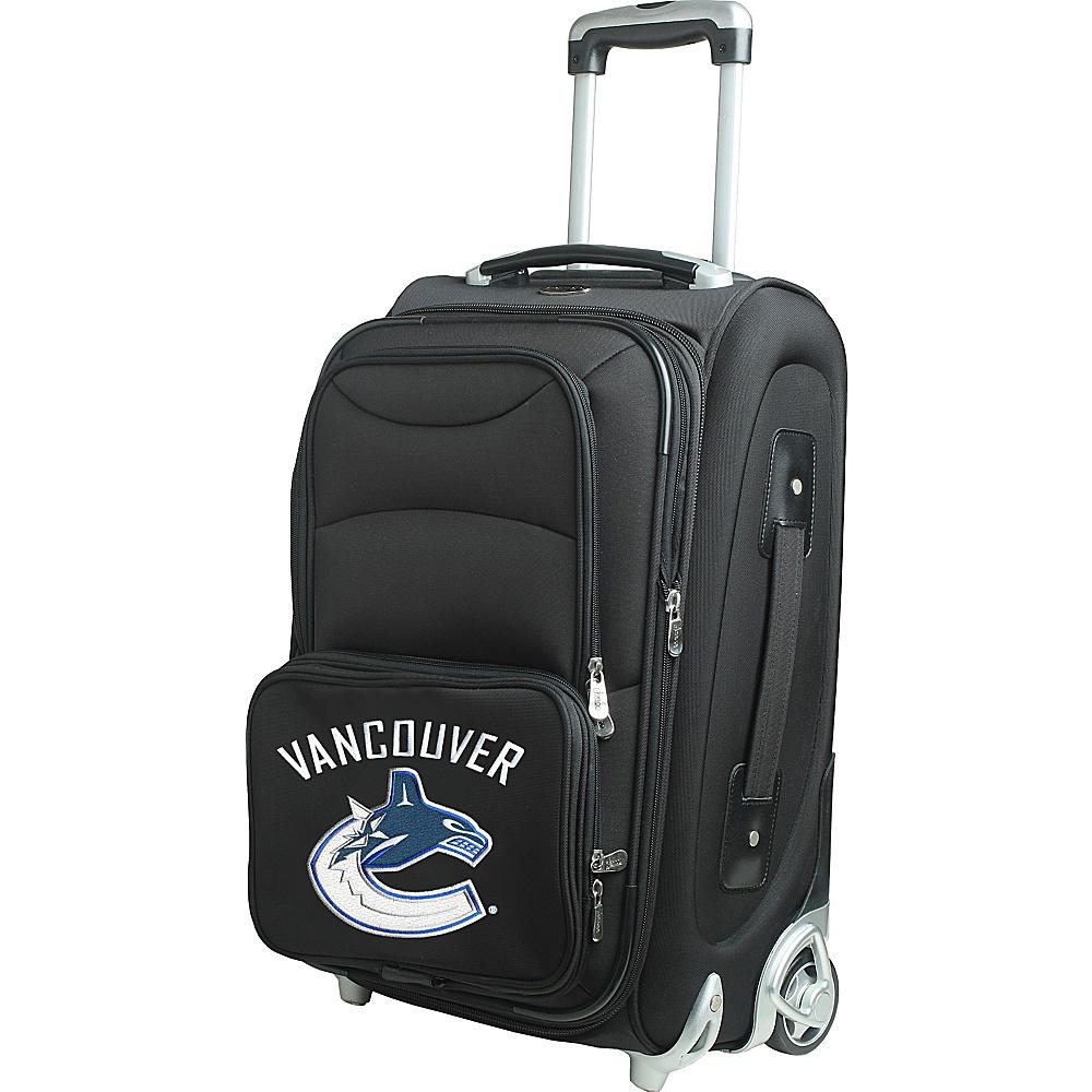 Denco Sports Luggage NHL 21 Wheeled Upright Vancouver Canucks - Denco Sports Luggage Softside Carry-On - Luggage, Softside Carry-On
