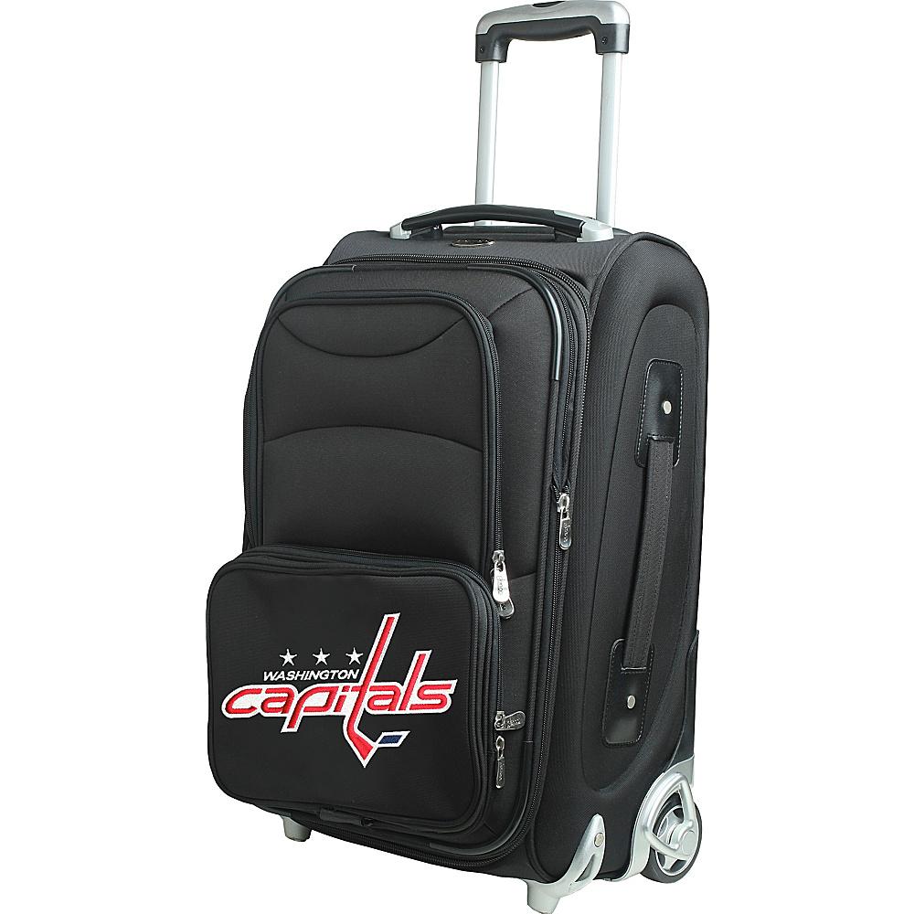 Denco Sports Luggage NHL 21 Wheeled Upright Washington Capitals - Denco Sports Luggage Softside Carry-On - Luggage, Softside Carry-On