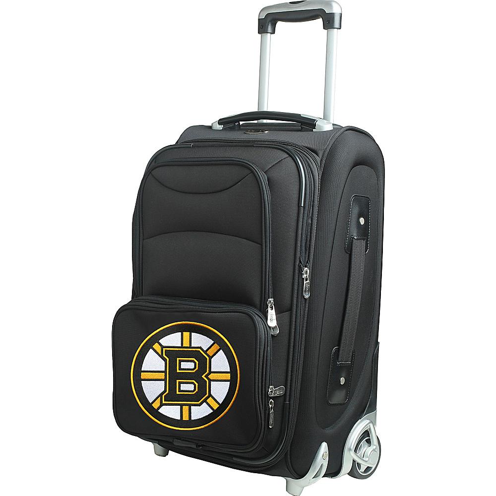 Denco Sports Luggage NHL 21 Wheeled Upright Boston Bruins - Denco Sports Luggage Softside Carry-On - Luggage, Softside Carry-On