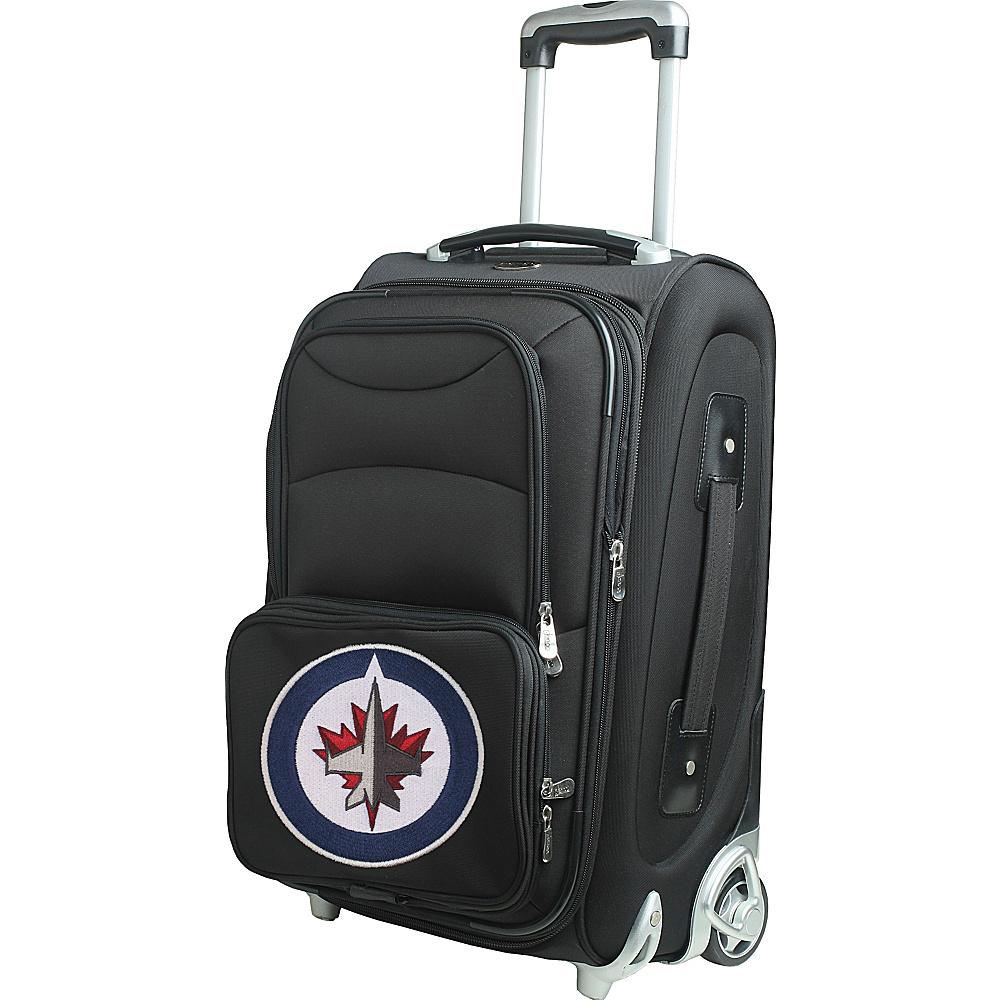 Denco Sports Luggage NHL 21 Wheeled Upright Winnipeg Jets - Denco Sports Luggage Softside Carry-On - Luggage, Softside Carry-On