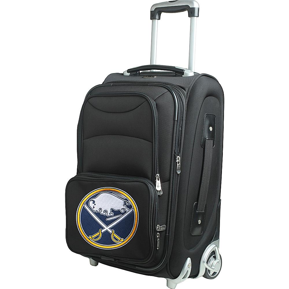 Denco Sports Luggage NHL 21 Wheeled Upright Buffalo Sabres - Denco Sports Luggage Softside Carry-On - Luggage, Softside Carry-On