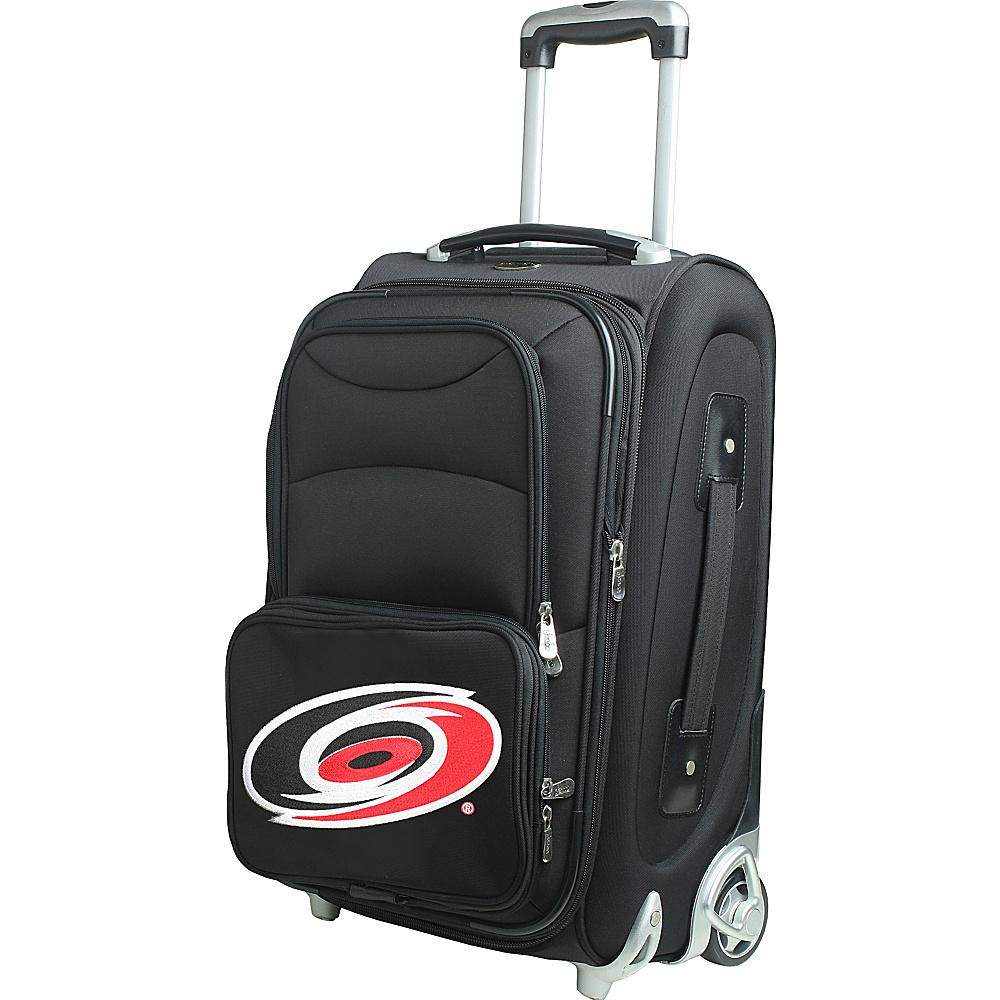 Denco Sports Luggage NHL 21 Wheeled Upright Carolina Hurricanes - Denco Sports Luggage Softside Carry-On - Luggage, Softside Carry-On