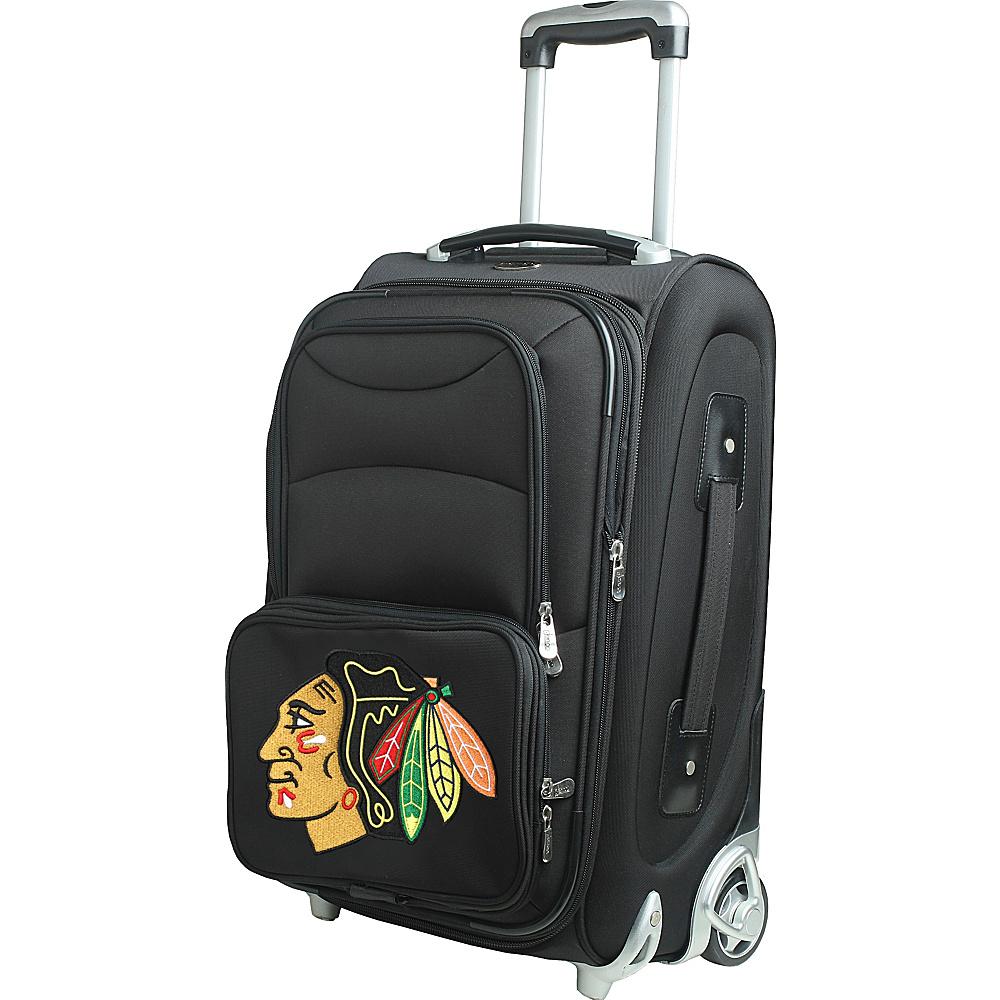 Denco Sports Luggage NHL 21 Wheeled Upright Chicago Blackhawks - Denco Sports Luggage Softside Carry-On - Luggage, Softside Carry-On