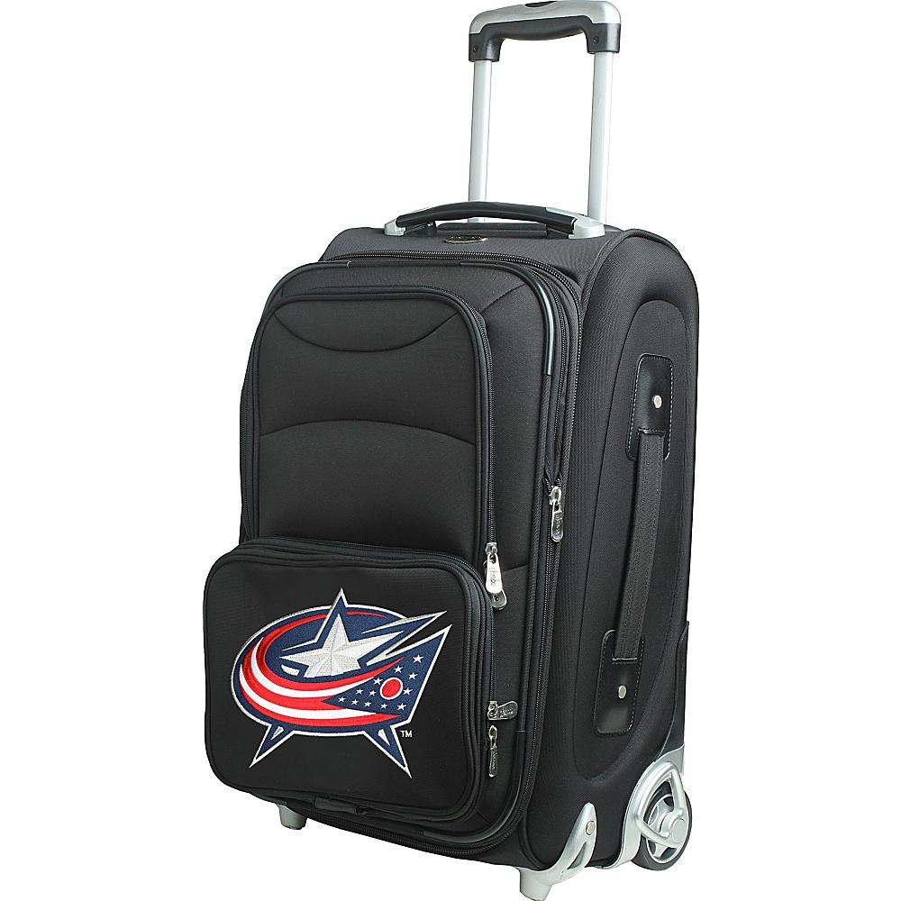 Denco Sports Luggage NHL 21 Wheeled Upright Columbus Blue Jackets - Denco Sports Luggage Softside Carry-On - Luggage, Softside Carry-On