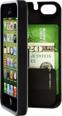 eyn case iPhone 5C Wallet/Storage Case Black - eyn case Electronic Cases