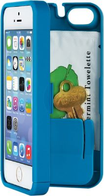 eyn case iPhone 5C Wallet/Storage Case Turquoise - eyn case Electronic Cases