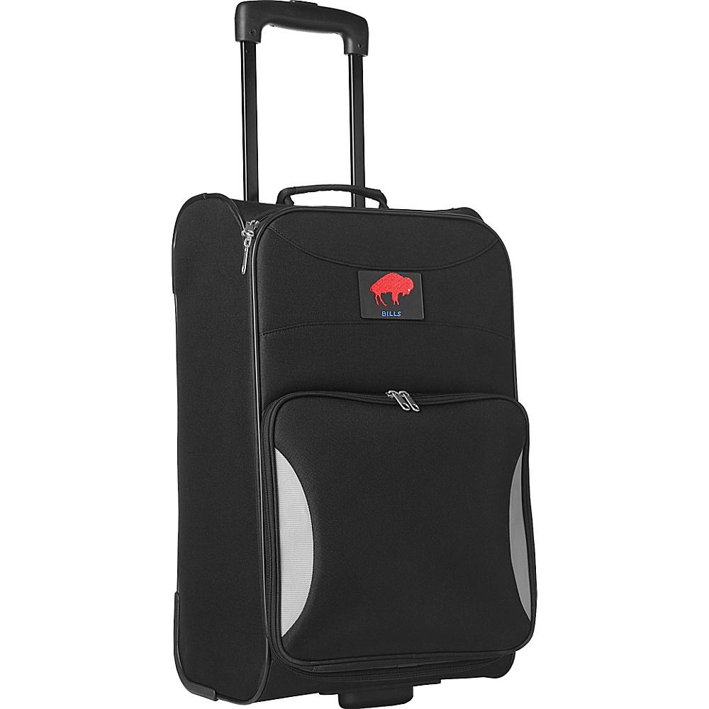 "Denco Sports Luggage Legacy Bills 21"" Black Steadfast Upright Carry-On Legacy Bills - Denco Sports Luggage Softside Carry-On"
