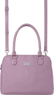 baggallini Natalie Satchel Wisteria - baggallini Fabric Handbags