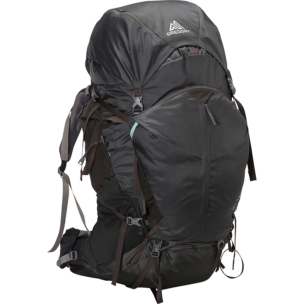 Gregory Deva 80 Small Pack Charcoal Gray Gregory Day Hiking Backpacks