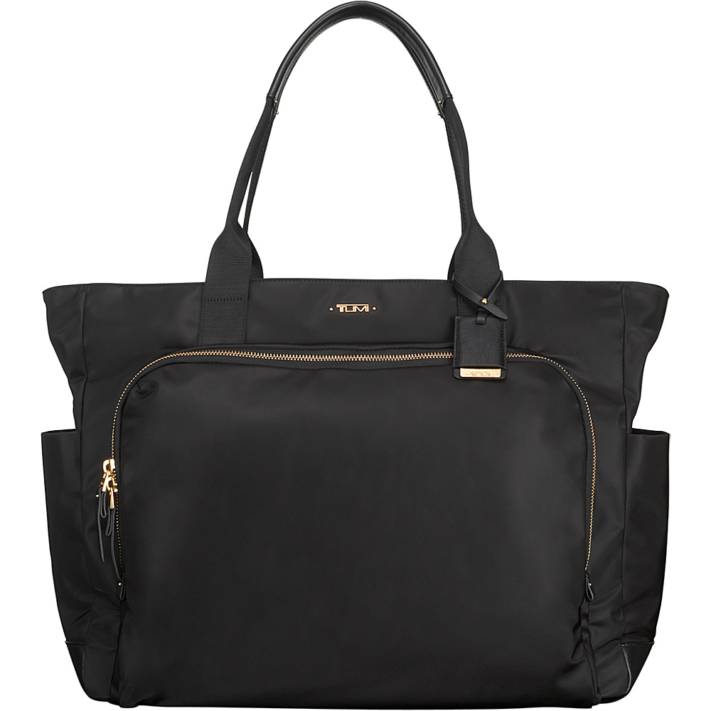 Tumi Voyageur Mansion Carry-All Black - Tumi Fabric Handbags - Handbags, Fabric Handbags