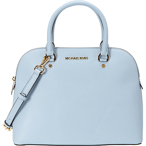 Upc 889154023697 Product Image For Michael Kors Cindy Large Dome Satchel Pale Blue
