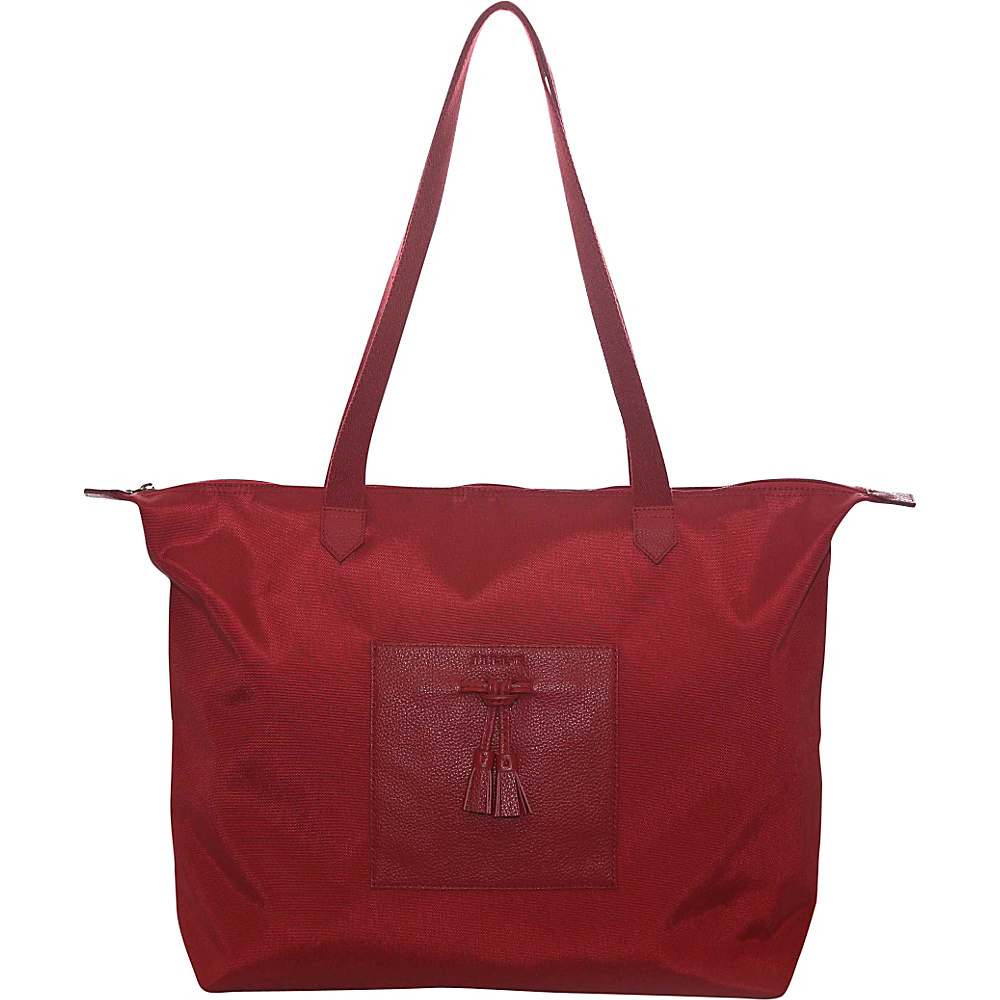 Jill e Designs Kara 10 Tablet Tote Red Jill e Designs Luggage Totes and Satchels