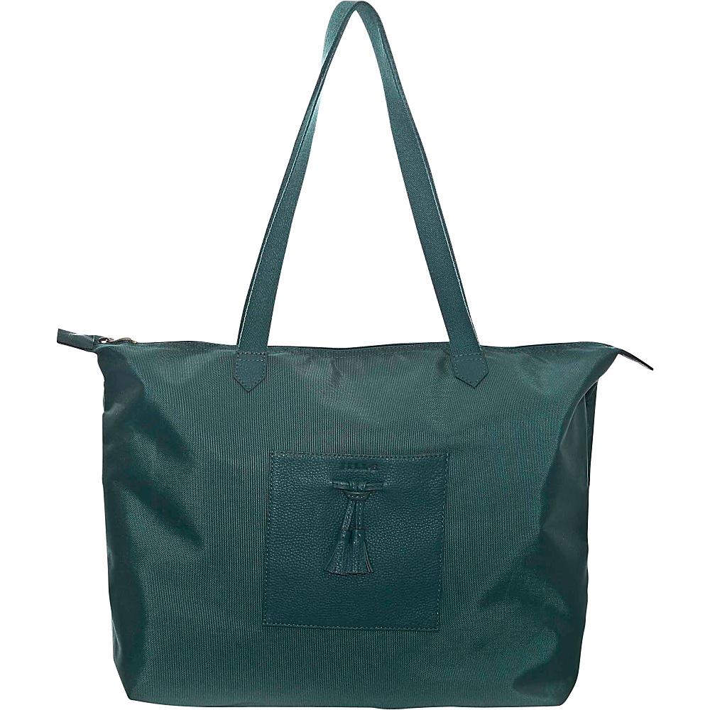Jill e Designs Kara 10 Tablet Tote Teal Jill e Designs Luggage Totes and Satchels