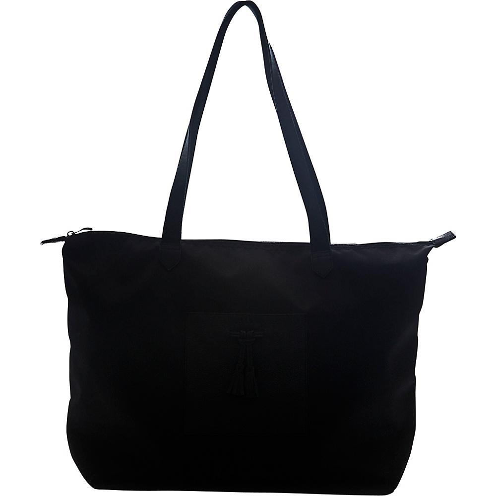 Jill e Designs Kara 10 Tablet Tote Black Jill e Designs Luggage Totes and Satchels