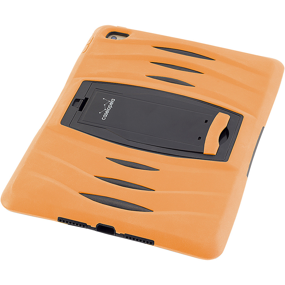 Devicewear Caseiopeia Keepsafe Kick Rugged Heavy Duty iPad Air 2 Case and Screen Protector Orange Devicewear Electronic Cases