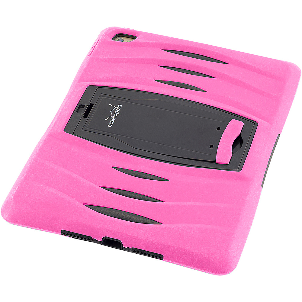 Devicewear Caseiopeia Keepsafe Kick Rugged Heavy Duty iPad Air 2 Case and Screen Protector Pink Devicewear Electronic Cases