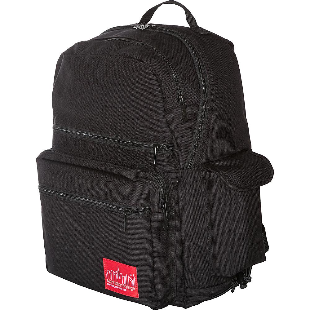 Manhattan Portage Kens Backpack Black - Manhattan Portage Everyday Backpacks - Backpacks, Everyday Backpacks