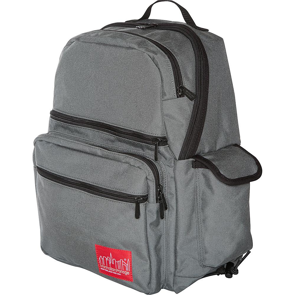 Manhattan Portage Kens Backpack Gray - Manhattan Portage Everyday Backpacks - Backpacks, Everyday Backpacks