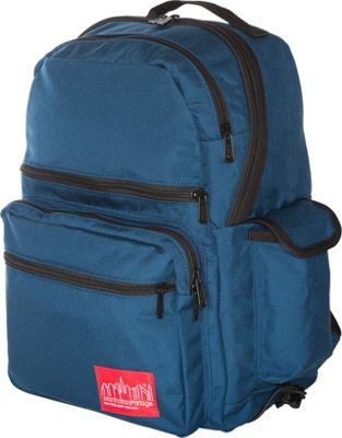 Manhattan Portage Ken's Backpack Navy - Manhattan Portage Everyday Backpacks