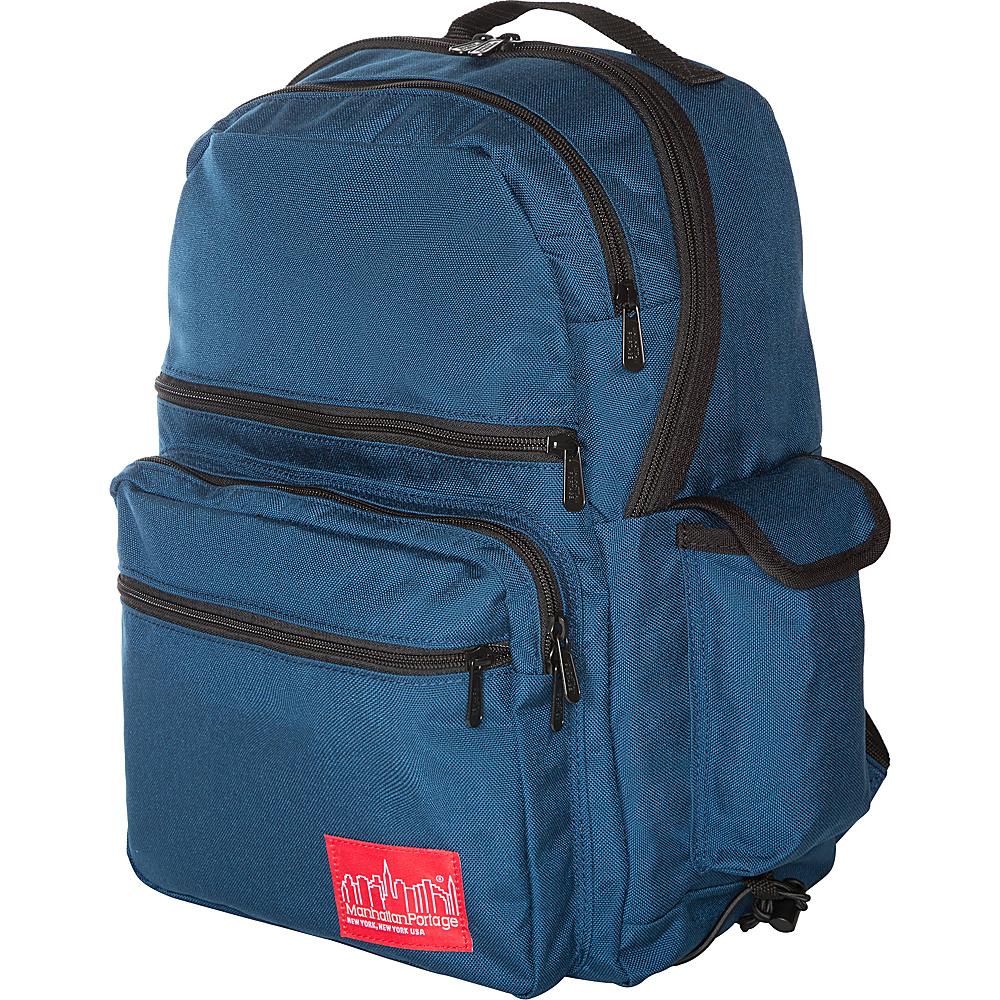 Manhattan Portage Kens Backpack Navy - Manhattan Portage Everyday Backpacks - Backpacks, Everyday Backpacks