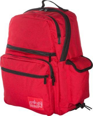 Manhattan Portage Ken's Backpack Red - Manhattan Portage Everyday Backpacks