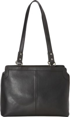 R & R Collections East West Tote Black - R & R Collections Leather Handbags