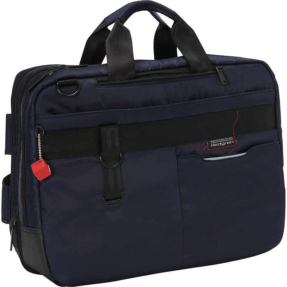 Hedgren Brook Business Bag Expandable Peacot Hedgren Non Wheeled Business Cases