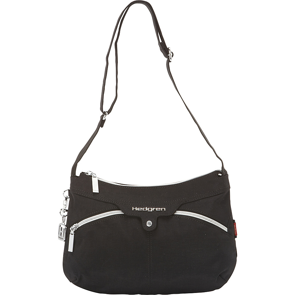 Hedgren Wapping Bag 01 Version Black Hedgren Fabric Handbags