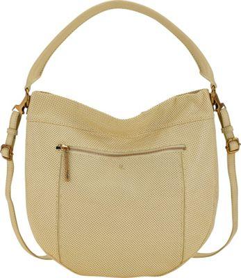 Elliott Lucca Faro City Hobo Limon Perf - Elliott Lucca Designer Handbags