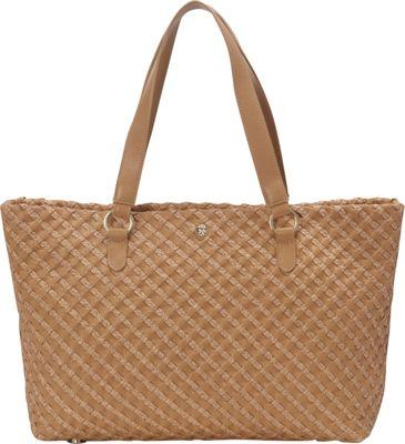 Helen Kaminski Fayann Medium Tote Almond/Nougat - Helen Kaminski Designer Handbags