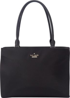 kate spade new york Classic Nylon Small Phoebe Black - kate spade new york Designer Handbags