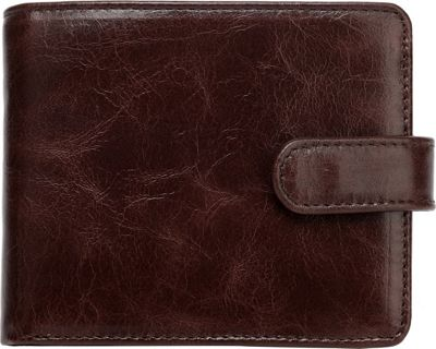 Vicenzo Leather Pelotas Classic Distressed Leather Trifold Men's Wallet Brown - Vicenzo Leather Men's Wallets