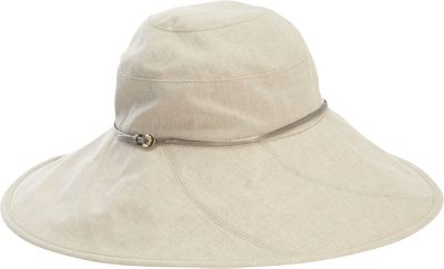Helen Kaminski Metuker Wide Brim Hat Wheat/Nickle - Helen Kaminski Hats