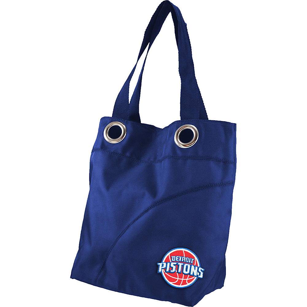 Littlearth Color Sheen Tote - NBA Teams Detroit Pistons - Littlearth Fabric Handbags - Handbags, Fabric Handbags