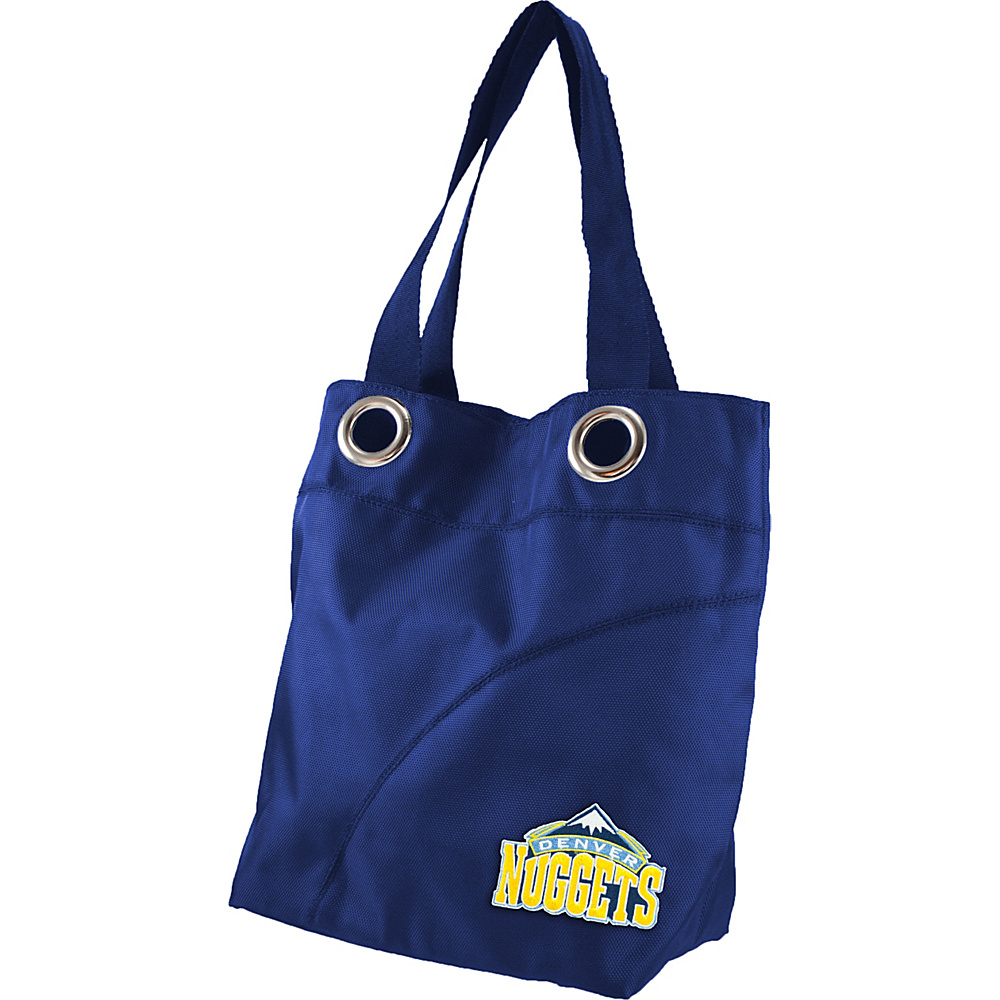 Littlearth Color Sheen Tote - NBA Teams Denver Nuggets - Littlearth Fabric Handbags - Handbags, Fabric Handbags