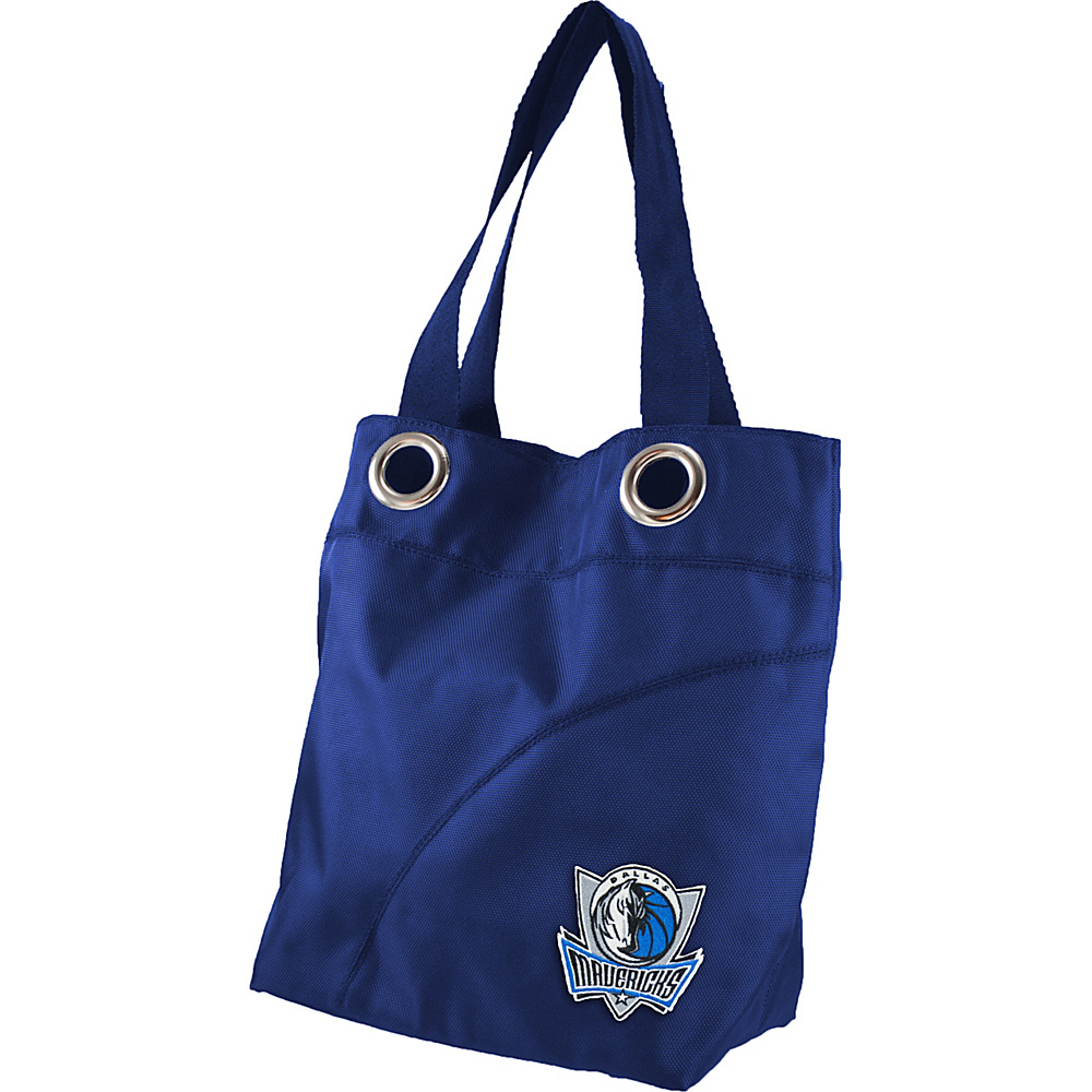 Littlearth Color Sheen Tote - NBA Teams Dallas Mavericks - Littlearth Fabric Handbags - Handbags, Fabric Handbags