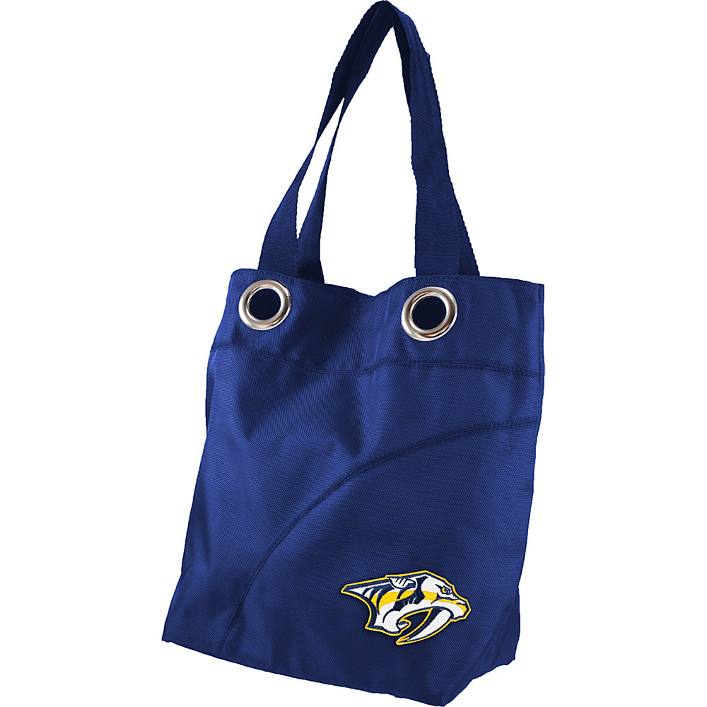 Littlearth Color Sheen Tote - NHL Teams Nashville Predators - Littlearth Fabric Handbags - Handbags, Fabric Handbags