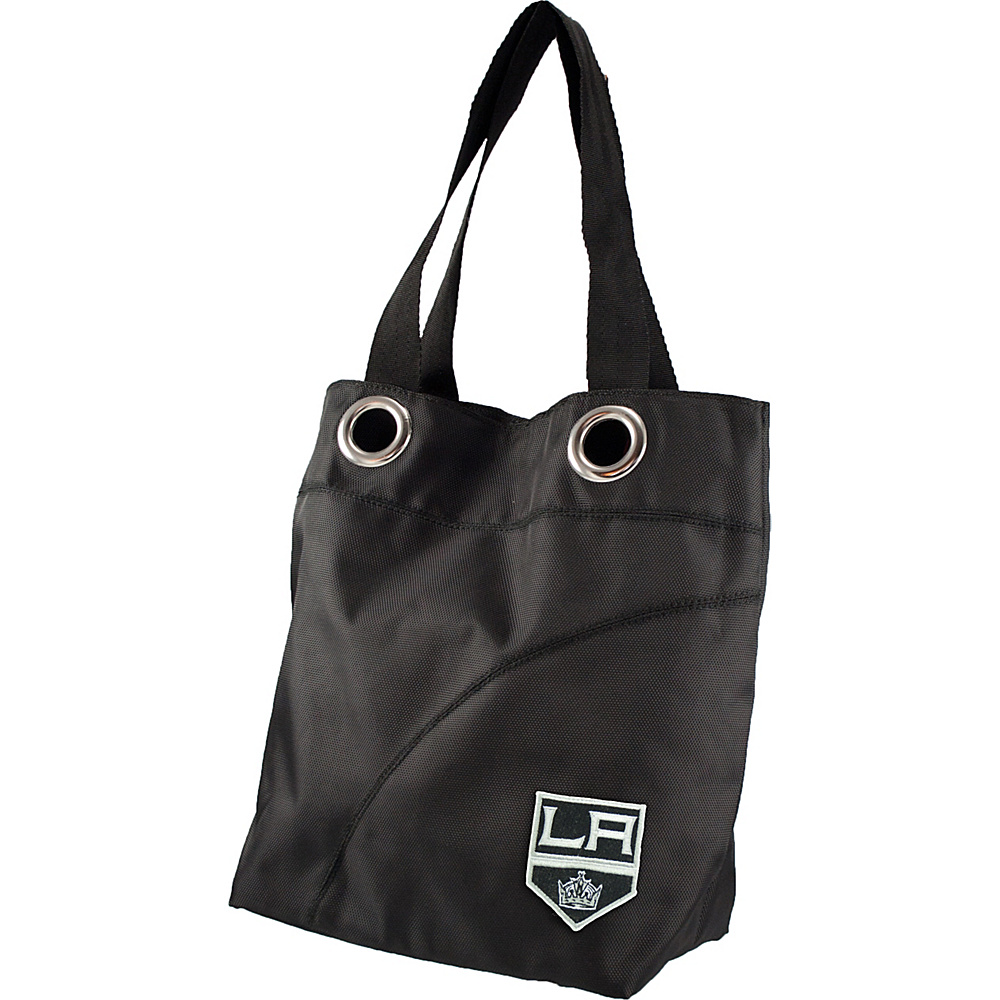Littlearth Color Sheen Tote - NHL Teams Los Angeles Kings - Littlearth Fabric Handbags - Handbags, Fabric Handbags