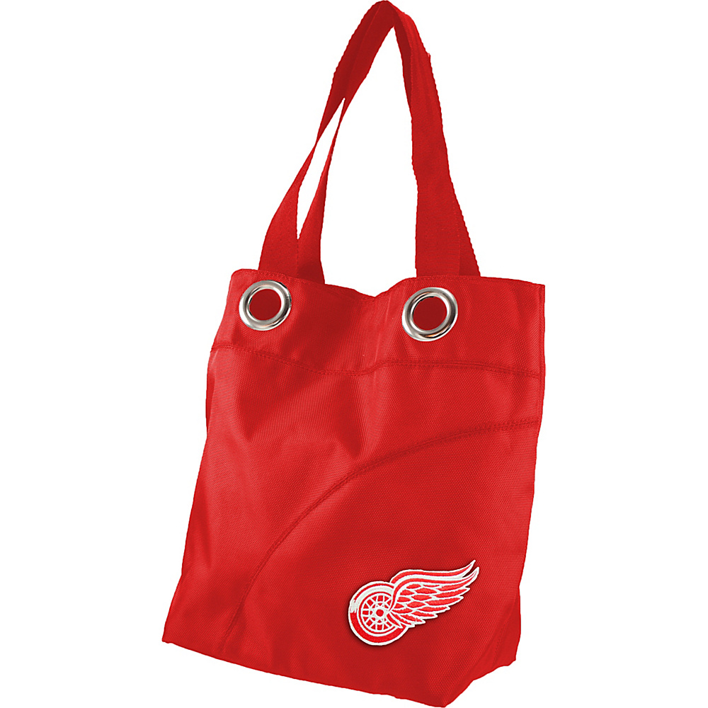 Littlearth Color Sheen Tote - NHL Teams Detroit Red Wings - Littlearth Fabric Handbags - Handbags, Fabric Handbags