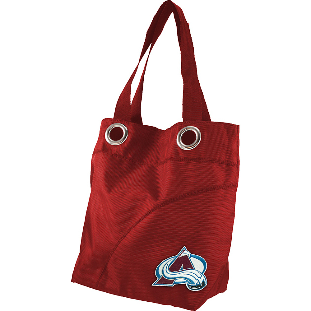 Littlearth Color Sheen Tote - NHL Teams Colorado Avalanche - Littlearth Fabric Handbags - Handbags, Fabric Handbags