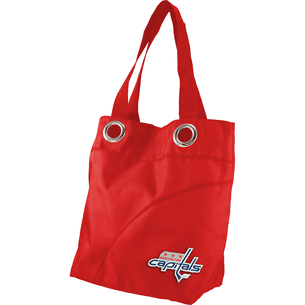 Littlearth Color Sheen Tote - NHL Teams Washington Capitals - Littlearth Fabric Handbags - Handbags, Fabric Handbags