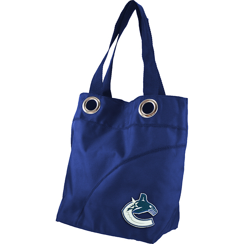 Littlearth Color Sheen Tote - NHL Teams Vancouver Canucks - Littlearth Fabric Handbags - Handbags, Fabric Handbags