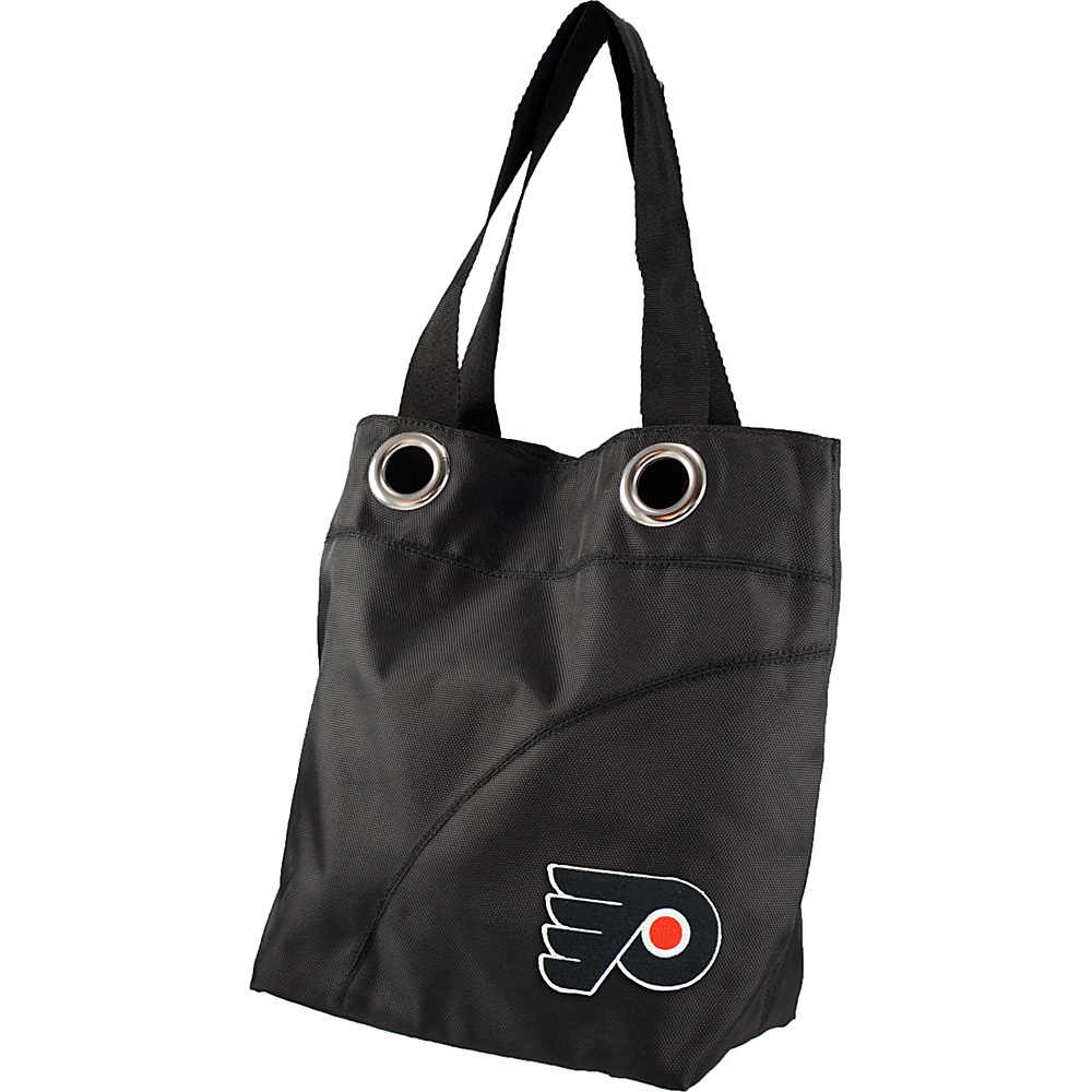 Littlearth Color Sheen Tote - NHL Teams Philadelphia Flyers - Littlearth Fabric Handbags - Handbags, Fabric Handbags