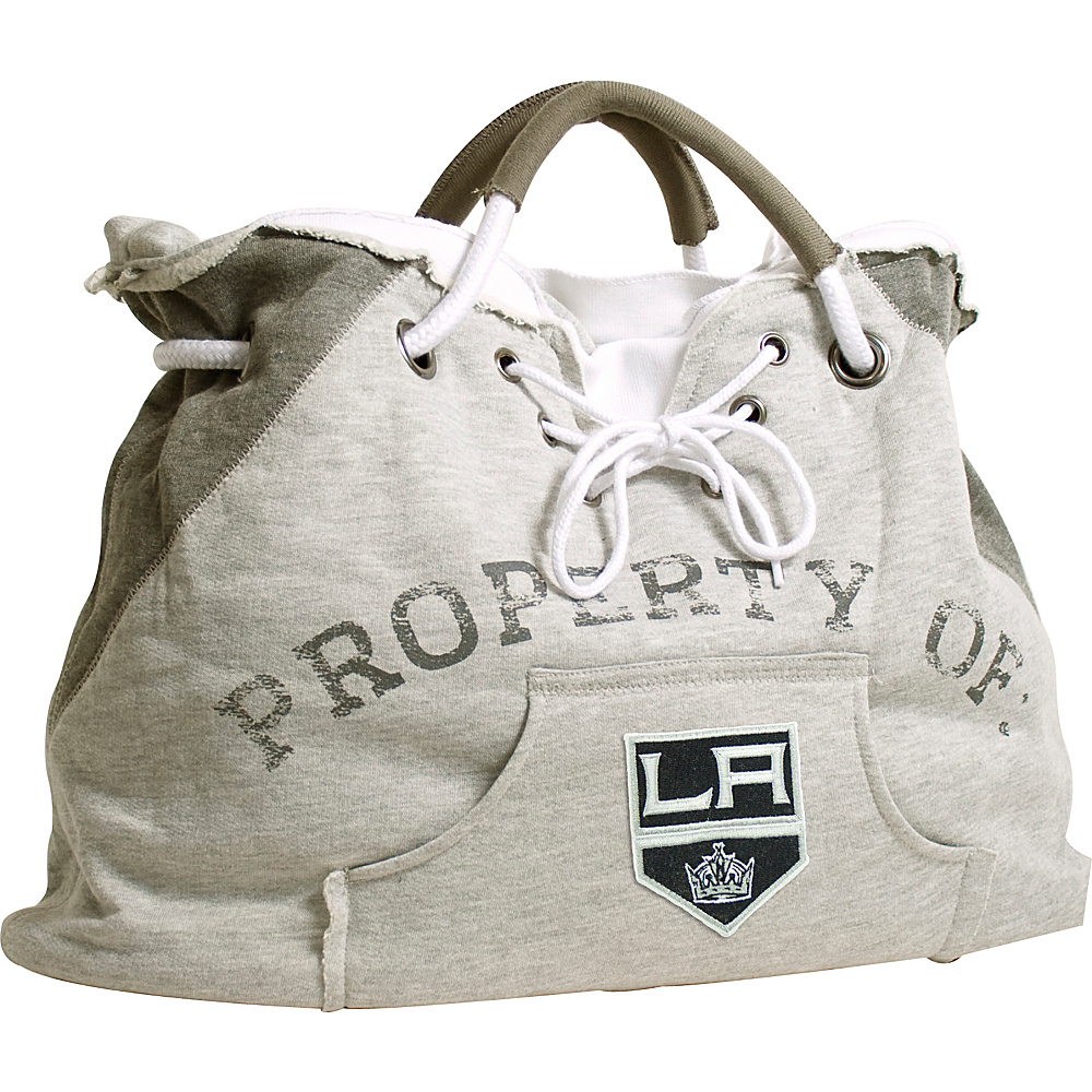 Littlearth Hoodie Tote - NHL Teams Los Angeles Kings - Littlearth Fabric Handbags - Handbags, Fabric Handbags