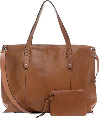 Ellington Handbags Delia Large Crossbody Tote Brown - Ellington Handbags Leather Handbags