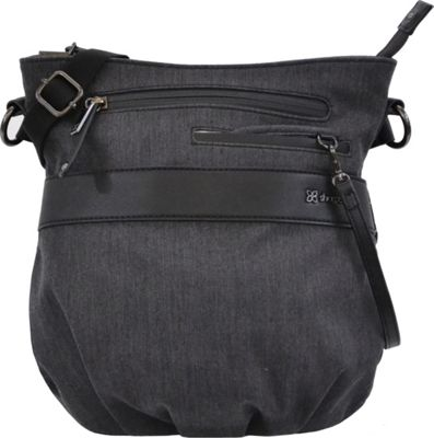 Sherpani Oslo Everyday Medium Crossbody Heathered Black - Sherpani Fabric Handbags