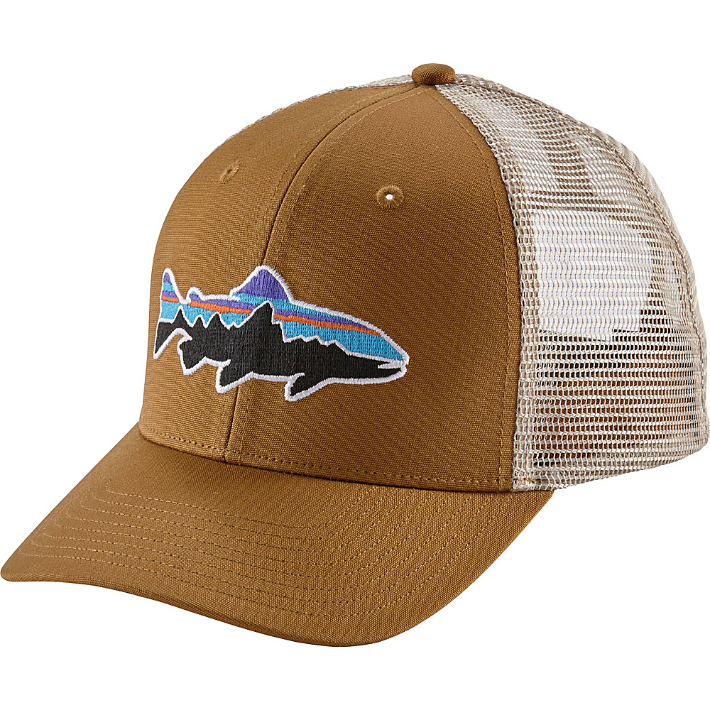 Patagonia Fitz Roy Trout Trucker Hat One Size - Bear Brown - Patagonia Hats/Gloves/Scarves - Fashion Accessories, Hats/Gloves/Scarves