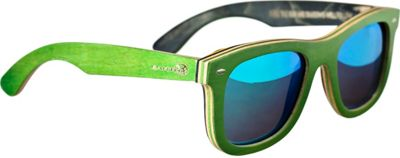 Earth Wood Malibu Sunglasses Green - Earth Wood Sunglasses