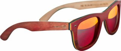 Earth Wood Malibu Sunglasses Red - Earth Wood Sunglasses