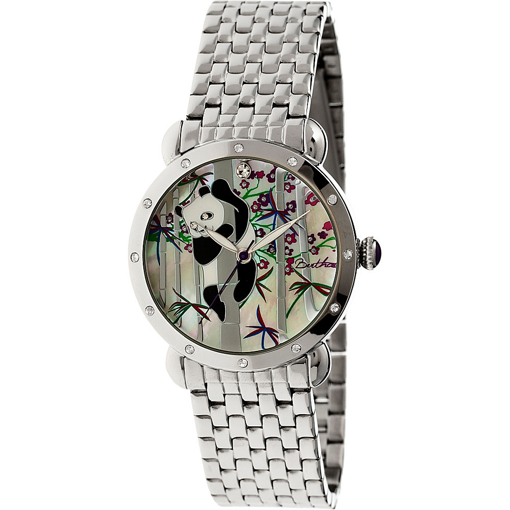 Bertha Watches Lilly Stainless Steel Watch Silver Bertha Watches Watches